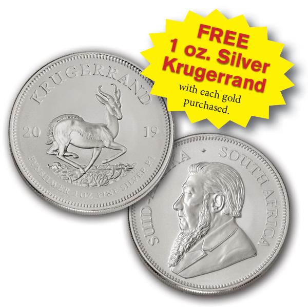 Free Silver Krugerrand