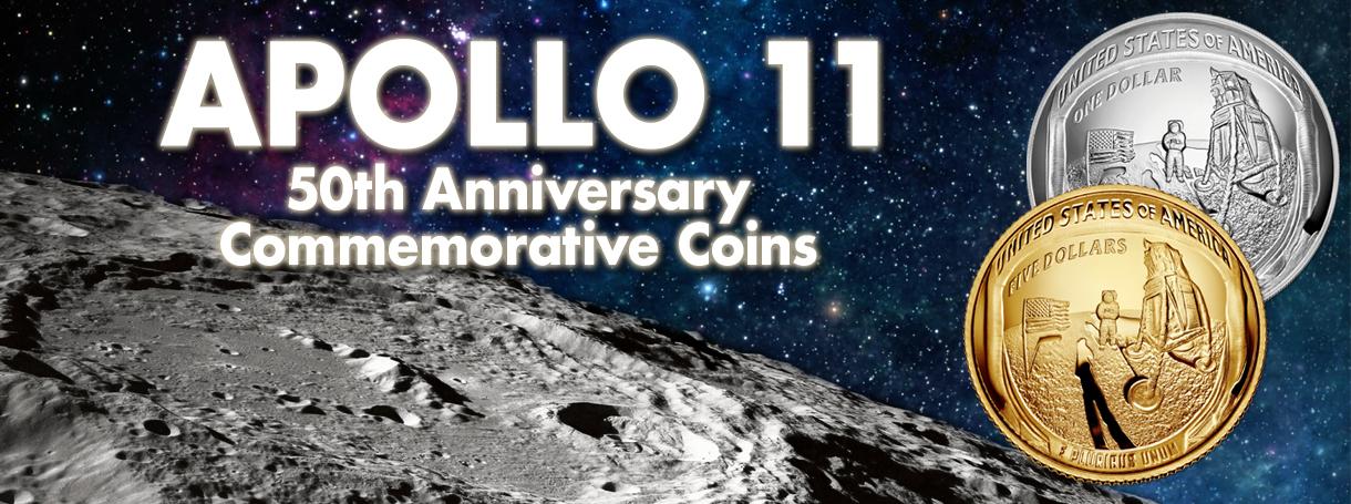 US Mint Apollo Coins Head