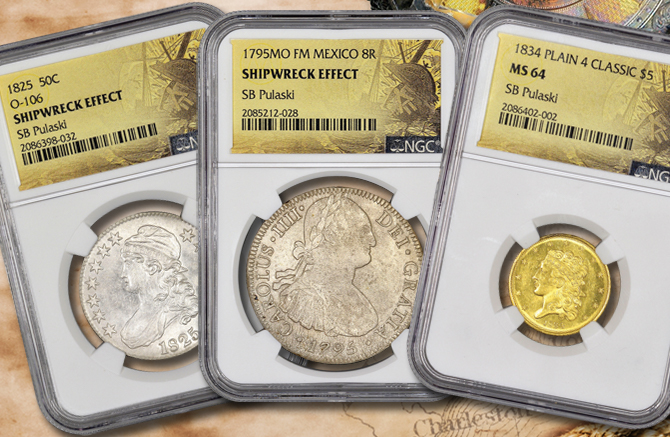 Graded Pulaski Coins