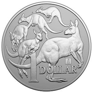 Royal Australian Mint ANA Show Kangaroo with Willis Tower Privy Mark