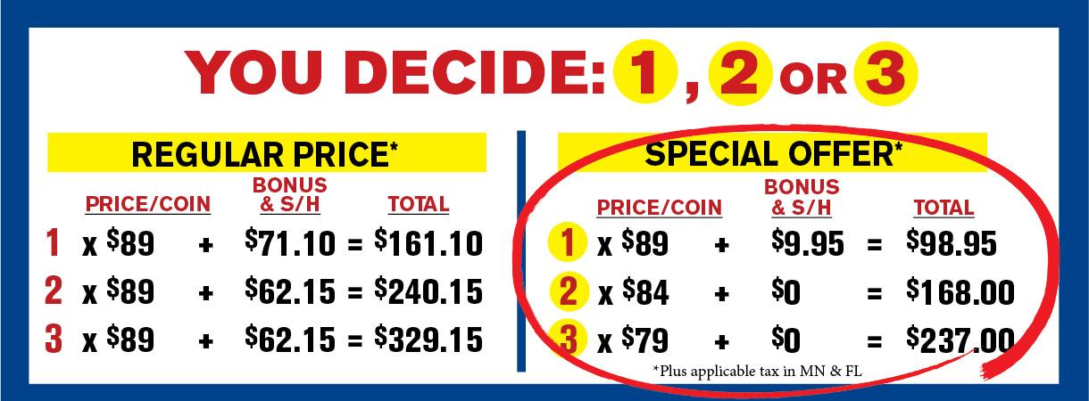 Morgan pricing grid