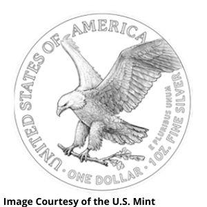 New American Silver Eagle Reverse