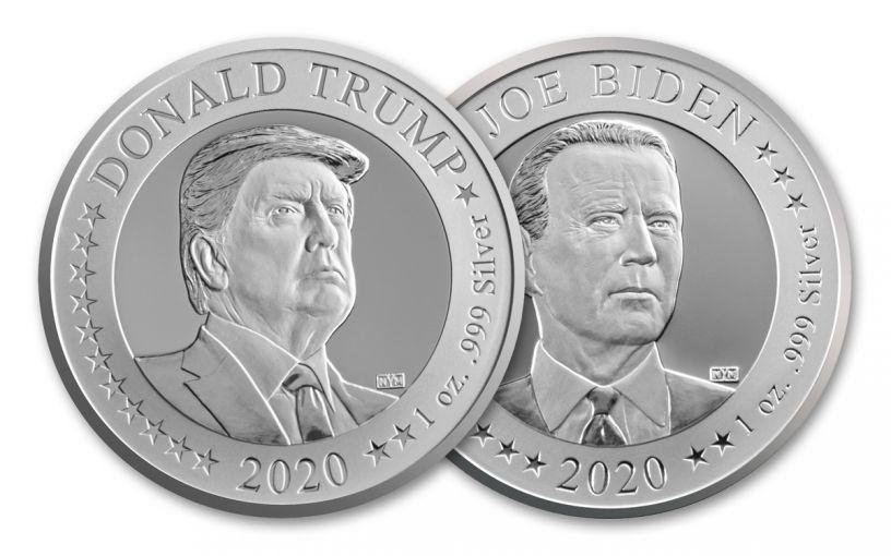 2020 Presidential Election Flip Coins