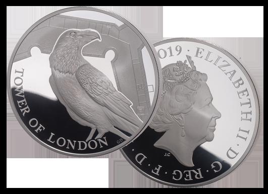 Raven 1 oz silver