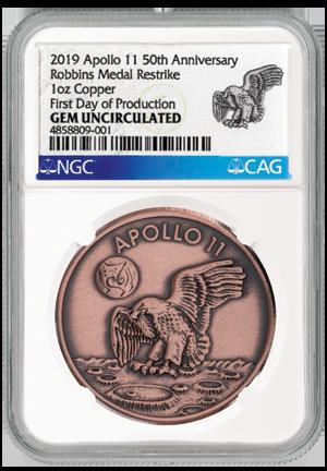 Robbins Medal copper FDP