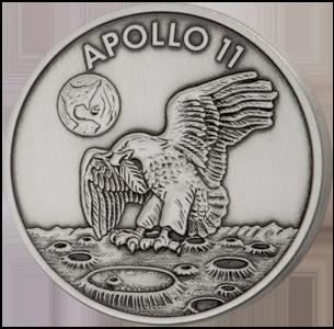 Robbins Medal Silver Space flown