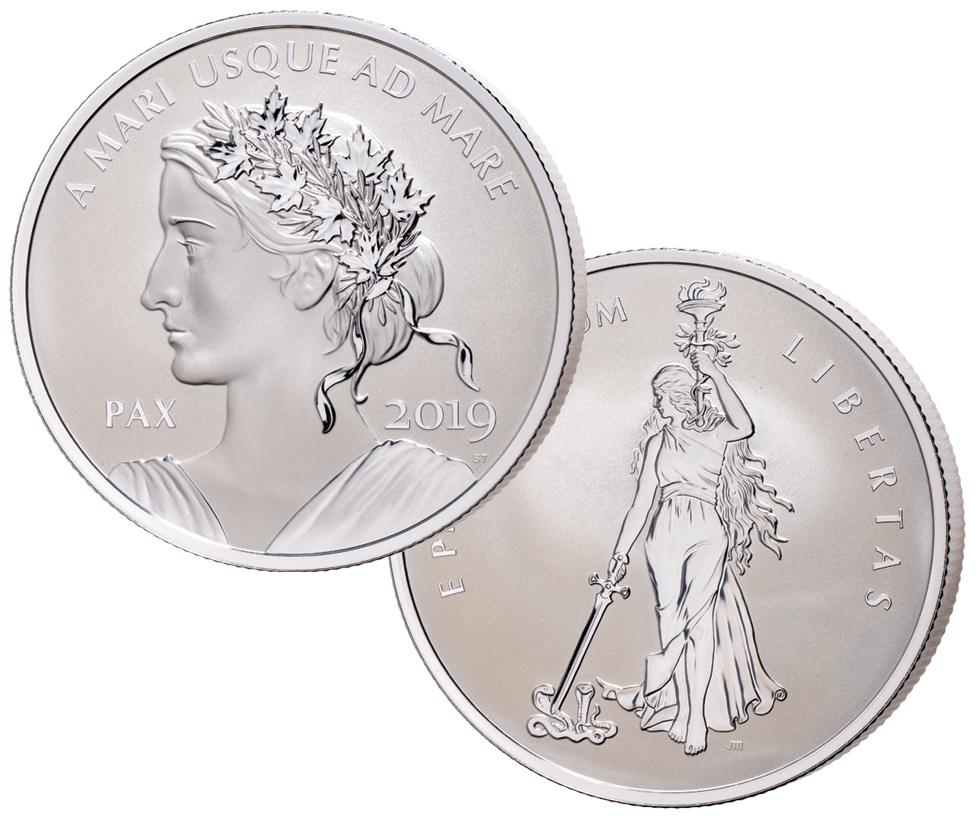 Peace and liberty silver