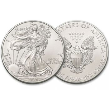 American Silver Eagle Obverse and Reverse Type-1