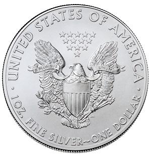 American Silver Eagle Reverse Design