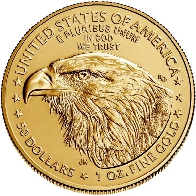 2021 American Gold Eagle New Reverse Content