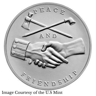 Van Buren Presidential Medal Reverse Design