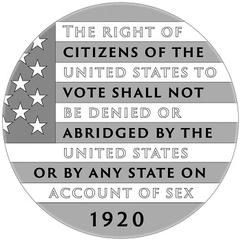 The right of the citizens of the united states to vote shall not be denied or abridged by the united states or by any state on account of sex 1920