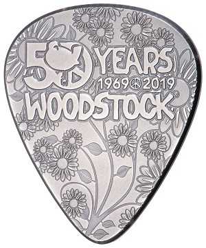 Woodstock 50th Anniversary Coin